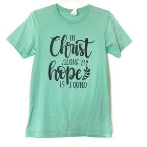 "Canvas S ""In Christ Alone My Hope Is Found"" Green"